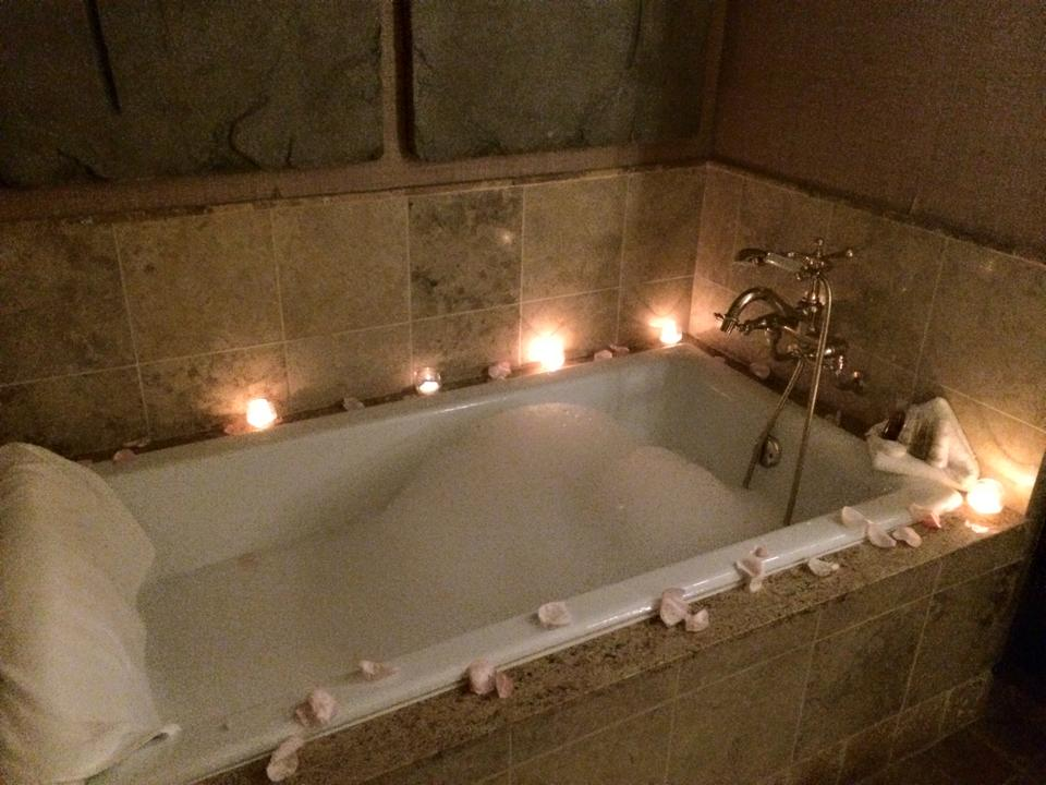 bath drawn